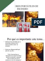 Entrenamiento Teórico de Extintores
