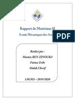 Rapport Matériaux 2