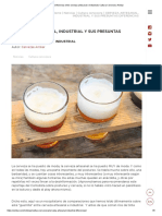 Diferencia entre cerveza artesanal e industrial  Cultura Cervecera Ambar