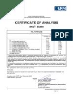 ERM-EC590 certificate