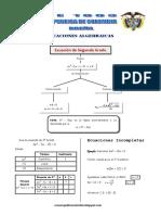 Matematica5 Semana 11 Guia de Estudio Ecuacion de Segundo Grado Ccesa007