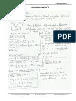 Función Mezcla - Función Exceso. Soluciones Regulares.