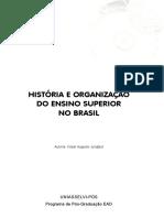 HISTÓRIA E ORGANIZAÇÃO DO ENSINO SUPERIOR NO BRASIL.pdf
