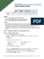 3.3.2.7 Packet Tracer - WEP WPA2 PSK WPA2 RADIUS