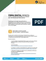 firma digital instructivo para envio