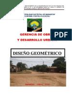 DISEÑO GEOMETRICO LAS ORQUIDEAS