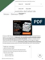 【 SENSOR CMP 】Qué es, funcionamiento, ubicación, fallas y soluciones