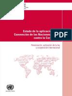 Estado de la aplicación de la convencion de  las naciones unidas contra la corrupcion.pdf
