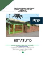 ESTATUTOS REFORMADOS 21 OCTUBRE DE 2012