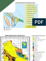 Provincias Geologicas y Estratigrafia de Bolivia