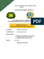 informe de obtencion del gas metano