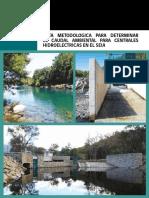 SEA (2016) - Guía metodológica para determinar el caudal ambiental para centrales hidroeléctricas en el SEIA