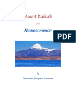Mount Kailash and Manasarowar