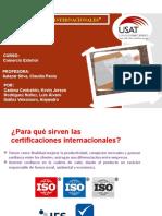Certificación internacional (1)