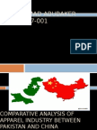 comparative analysis of pakistan and china apparel industry