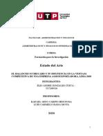 Actualizado - Ejemplo de estado del Arte - BALANCED SCORECARD Y VENTAJA COMPETITIVA - ELIO GONZALES