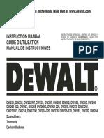 Manual Atornillador DEWALT DW268