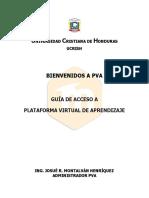 Manual primer acceso a PVA_Estudiantes