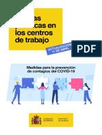 Buenas Practicas de Prevención Ante El Covid - España