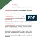 FUNCIONES BASICA DE LA EMPRESA