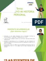 FUENTES ORALES - MITOS Y LEYENDAS