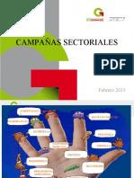 8. CAMPAÑAS SECTORIALES FEB 2015
