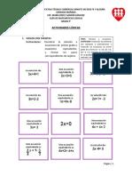 Matemáticas Lúdicas - Grado 9°