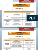 directorio interinstitucional ADOEN 2020 (Pandemia)