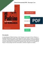 El Padrino. La venganza (Planeta Internacional) PDF - Descargar, Leer