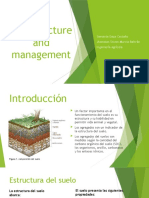 Soil structure and management