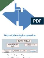 Gene action ppt