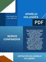 Diapositivas Aparejo Holandes