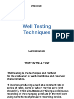 Basic Well Testing