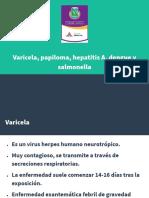 vacunas Varicela, papiloma, hepatitis A, dengue y salmonella.pptx