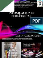 Intoxicaciones pediátricas