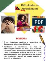 DIFICULDADES DE APRENDIZAGEM 2020
