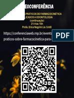 CONCEITOS PRÁTICOS DE FARMACOCINÉTICA APLICADOS A ODONTOLOGIA (continuação)