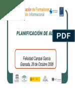 PLANIFICACIÓN DE ALFIN