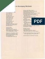 Tonal Harmony Chapter 29 Credits and CD Tracks