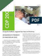 Master Plan 2015 Workshop Report