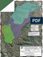 Mapa geológico de la Cuenca del Río Huancachupa-Johan de la vega Ambrosio