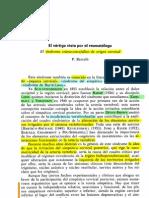 SINDROME CRÁNEO-ENCEFÁLICO DE ORIGEN CERVICAL-SIMPÁTICO CERVICAL POSTERIOR-BARRÉ-LIEOU