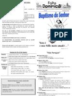 Folha Paroquial Vale S. Martinho (421) - 09 Janeiro 2011