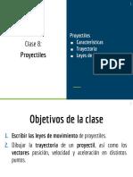 8. Proyectiles DIAPOSITIVAS