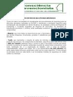 PREVENÇÃO OFICINA MECANICA - RISCOS