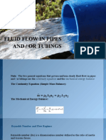 Lecture 6 Fluid Flow in Pipes