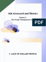 HR Scorecard 1 - Introduction
