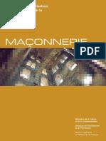2006 Manuel de sensibilisation à la restauration de la Maconnerie MCC DAP
