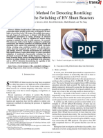 [2012]_A Noninvasive Method for Detecting Restriking_ Application to the Switching of HV Shunt Reactors