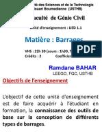 COURS BARRAGES - 1A-MASTER-VOA 2018-2019